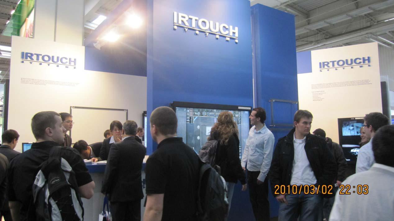 optical imaging touch screen technology